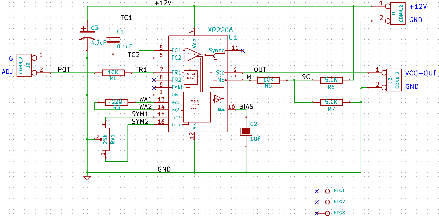 Arduino Function Generator Blog Build Your Own Audiofunctiongenerator Signalprocessing Circuit Diagram Dougspcbdesigns Licensed For Non Commercial Use Only Xr 2206